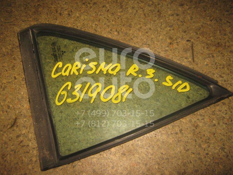 Стекло двери задней правой (форточка) для Mitsubishi Carisma (DA) 1995-2000;Carisma (DA) 2000-2003 - Фото №1