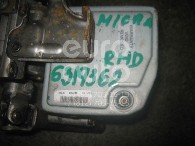 Колонка рулевая для Nissan Micra (K12E) 2002-2010 - Фото №1