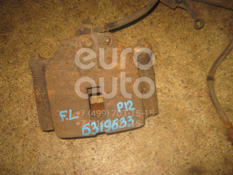 Суппорт передний левый для Nissan Primera P12E 2002-2007 - Фото №1