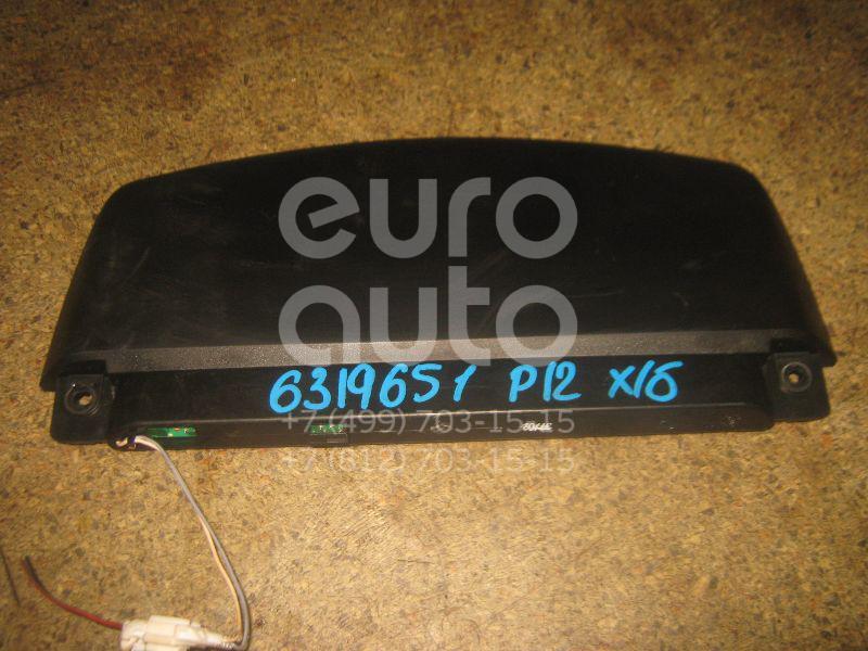 Фонарь задний (стоп сигнал) для Nissan Primera P12E 2002-2007 - Фото №1
