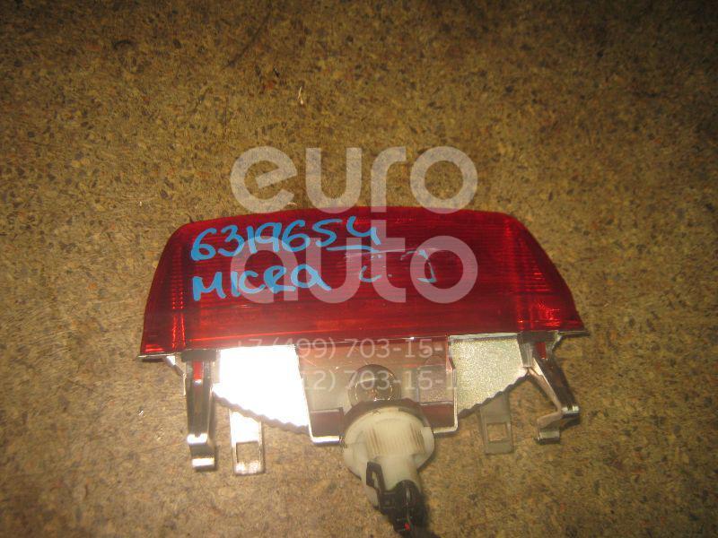 Фонарь задний (стоп сигнал) для Nissan Micra (K12E) 2002-2010 - Фото №1