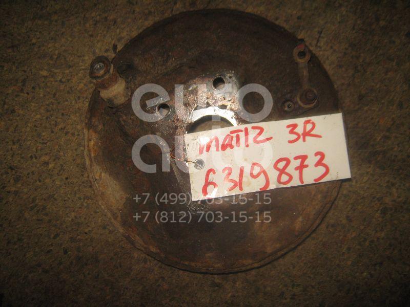 Щит опорный задний правый для Daewoo Matiz (KLYA) 1998>;Matiz 2001> - Фото №1