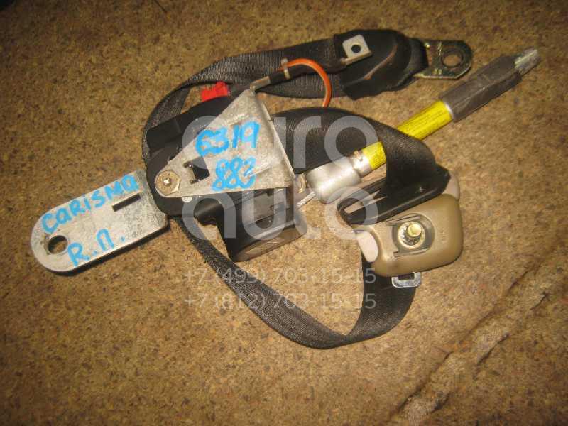 Ремень безопасности с пиропатроном для Mitsubishi Carisma (DA) 1995-1999 - Фото №1