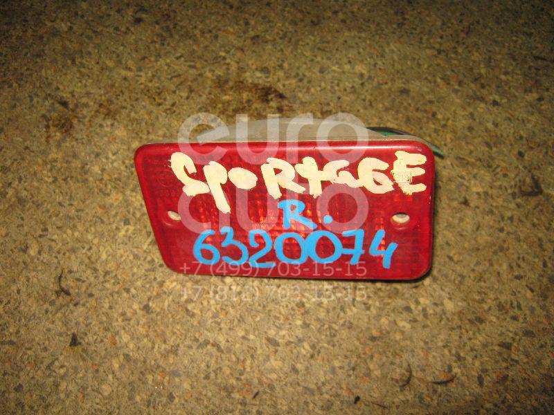Фонарь задний в бампер правый для Kia Sportage 1994-2004 - Фото №1