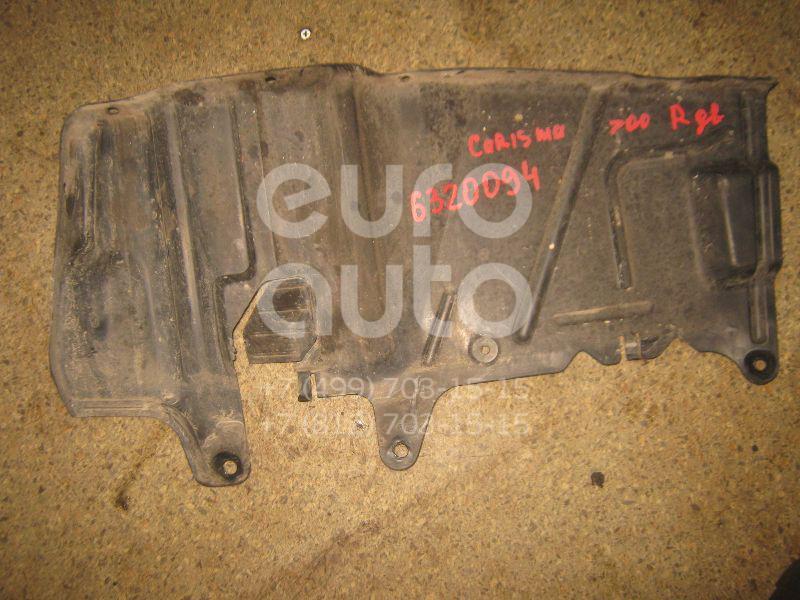 Пыльник двигателя боковой правый для Mitsubishi Carisma (DA) 1995-2000;S40 1995-1998;V40 1995-1998;S40 1998-2001;V40 1998-2001;S40 2001-2003;V40 2001-2004;Space Star 1998-2004;Carisma (DA) 2000-2003 - Фото №1
