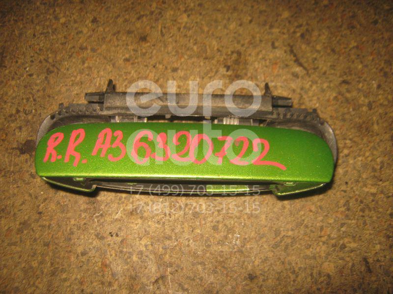 Ручка двери наружная правая для Audi A3 (8L1) 1996-2003;A4 [B5] 1994-2001;Allroad quattro 2000-2005;A4 [B6] 2000-2004;A6 [C5] 1997-2004;A8 [4D] 1999-2002 - Фото №1
