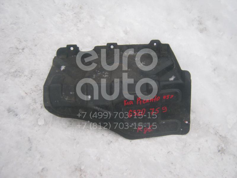 Пыльник двигателя боковой правый для Kia Picanto 2004-2011 - Фото №1