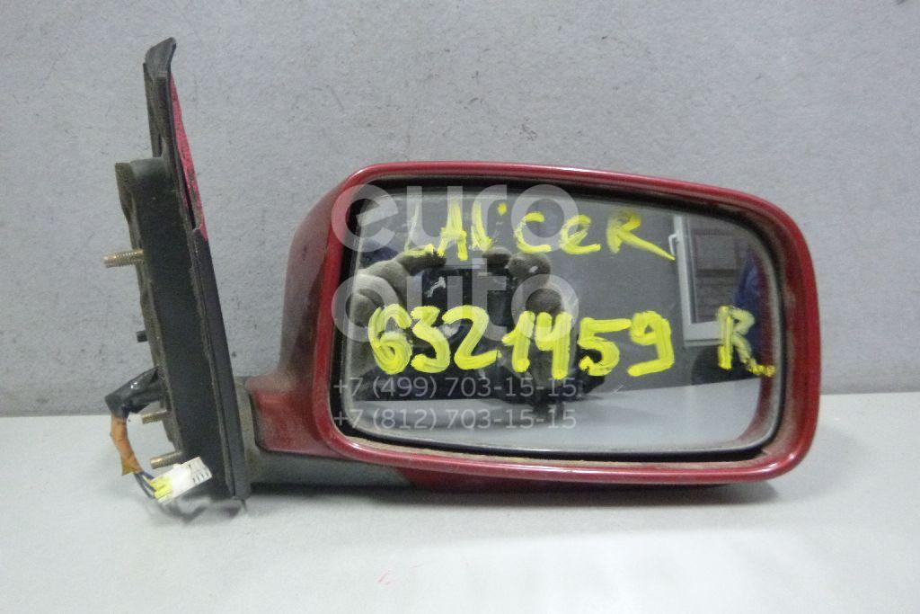 Зеркало правое электрическое для Mitsubishi Lancer (CS/Classic) 2003-2008 - Фото №1