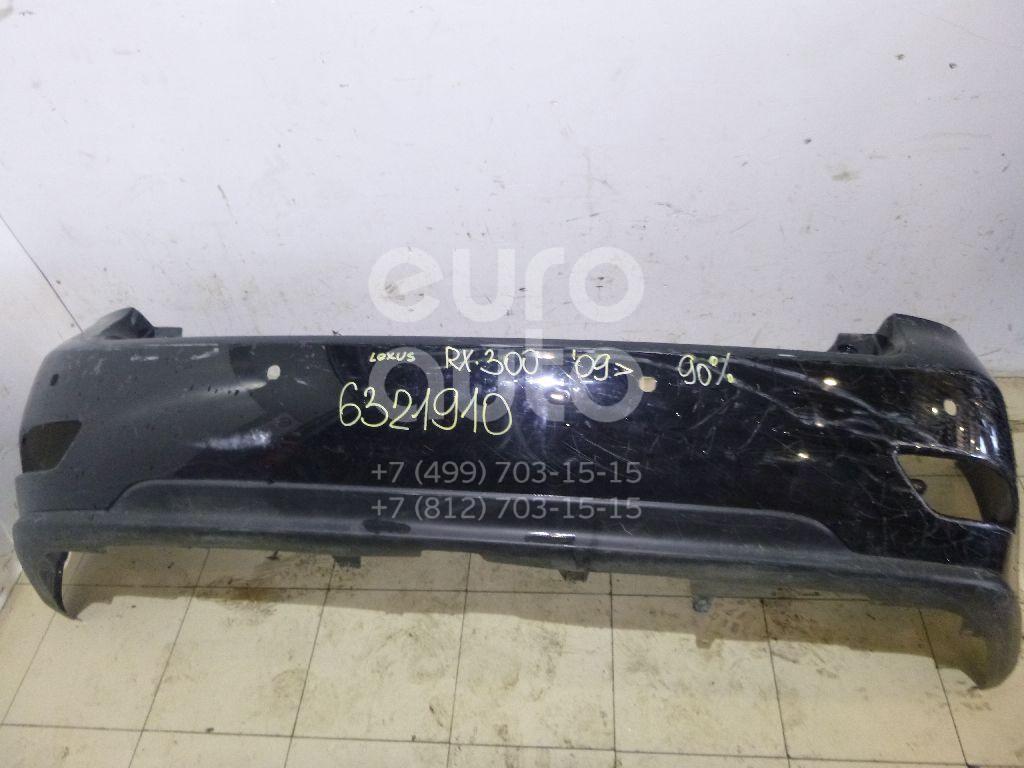 Бампер задний для Lexus RX 350/450H 2009-2015 - Фото №1