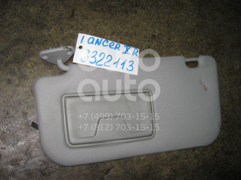 Козырек солнцезащитный (внутри) для Mitsubishi Lancer (CX,CY) 2007> - Фото №1