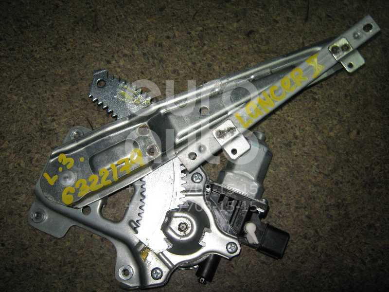 Стеклоподъемник электр. задний левый для Mitsubishi Lancer (CX,CY) 2007> - Фото №1