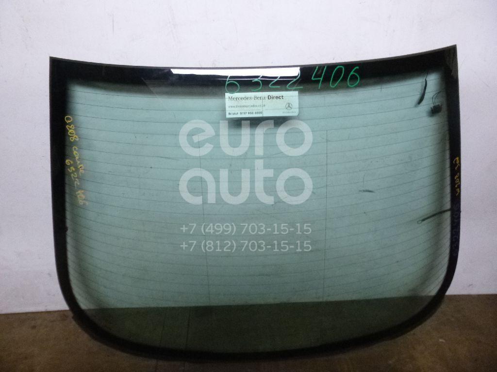 Стекло заднее для Mercedes Benz C208 CLK coupe 1997-2002 - Фото №1