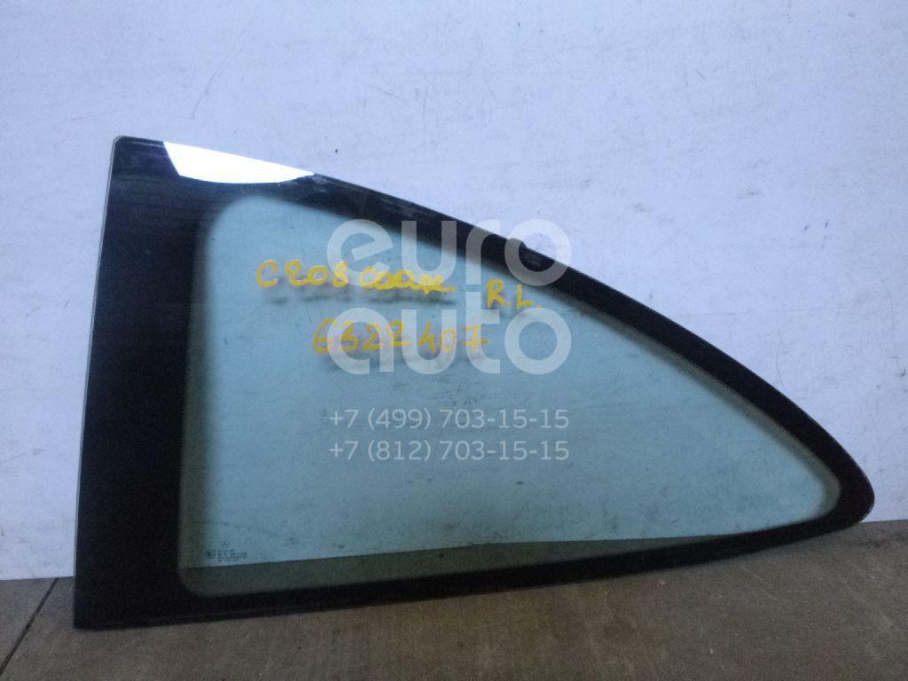 Стекло кузовное глухое левое для Mercedes Benz C208 CLK coupe 1997-2002 - Фото №1