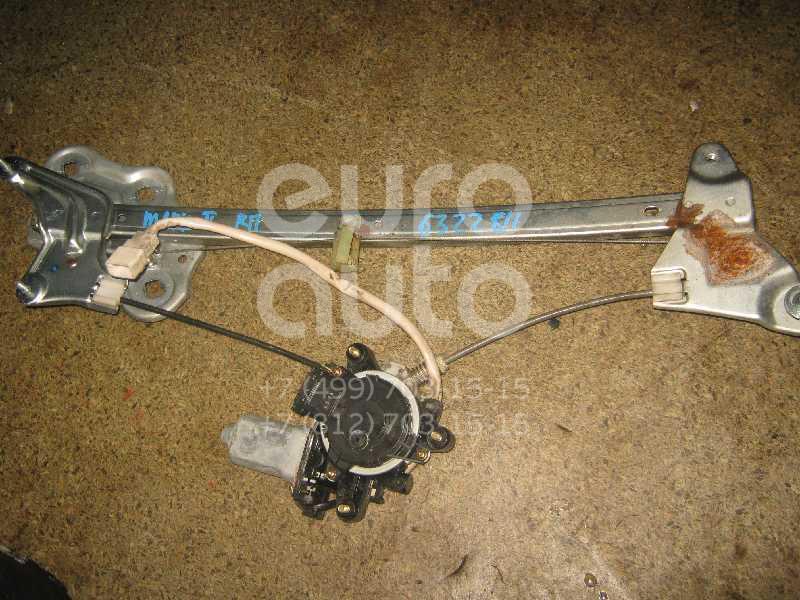 Стеклоподъемник электр. передний правый для Toyota Mark 2 (X10#) 1996-2000 - Фото №1