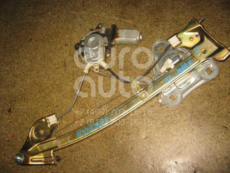 Стеклоподъемник электр. задний левый для Toyota Mark 2 (X10#) 1996-2000 - Фото №1