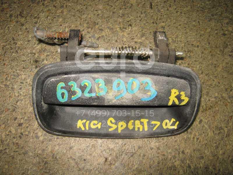 Ручка двери задней наружная правая для Kia Sportage 1993-2006 - Фото №1