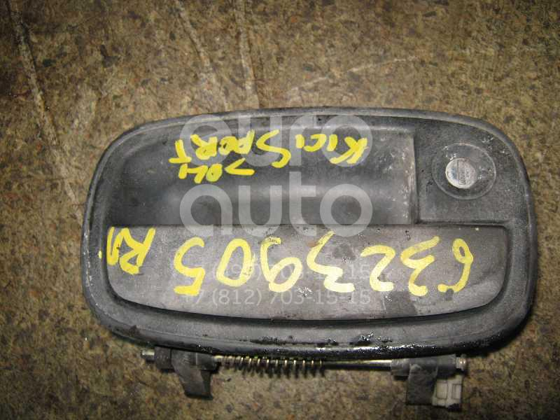 Ручка двери передней наружная правая для Kia Sportage 1994-2004 - Фото №1