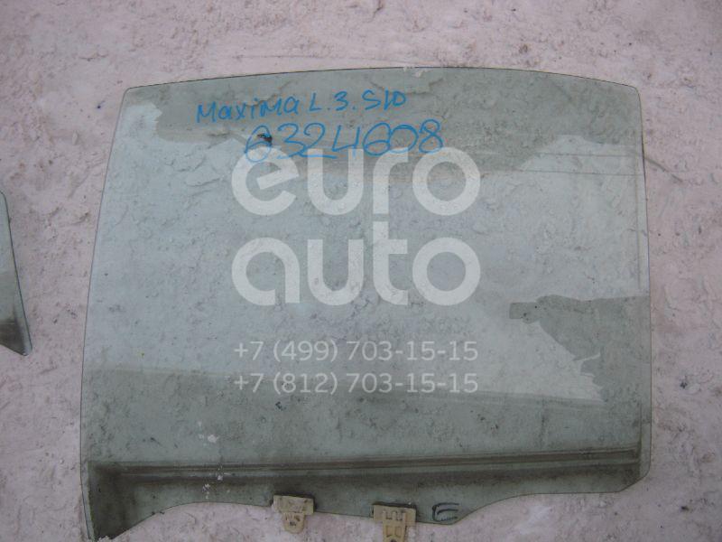 Стекло двери задней левой для Nissan Maxima (A32) 1994-2000 - Фото №1