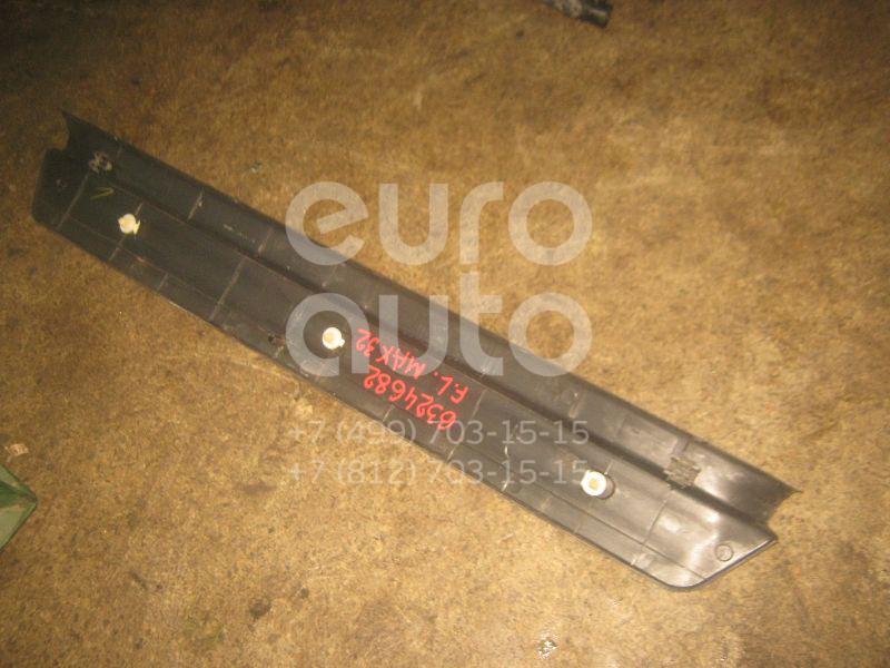 Накладка порога (внутренняя) для Nissan Maxima (A32) 1994-2000 - Фото №1