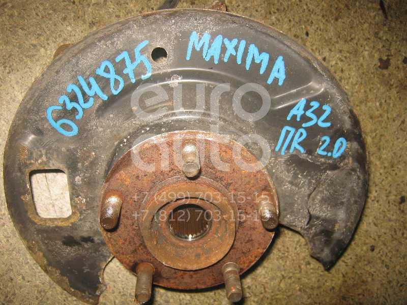 Кулак поворотный передний правый для Nissan Maxima (A32) 1994-2000 - Фото №1