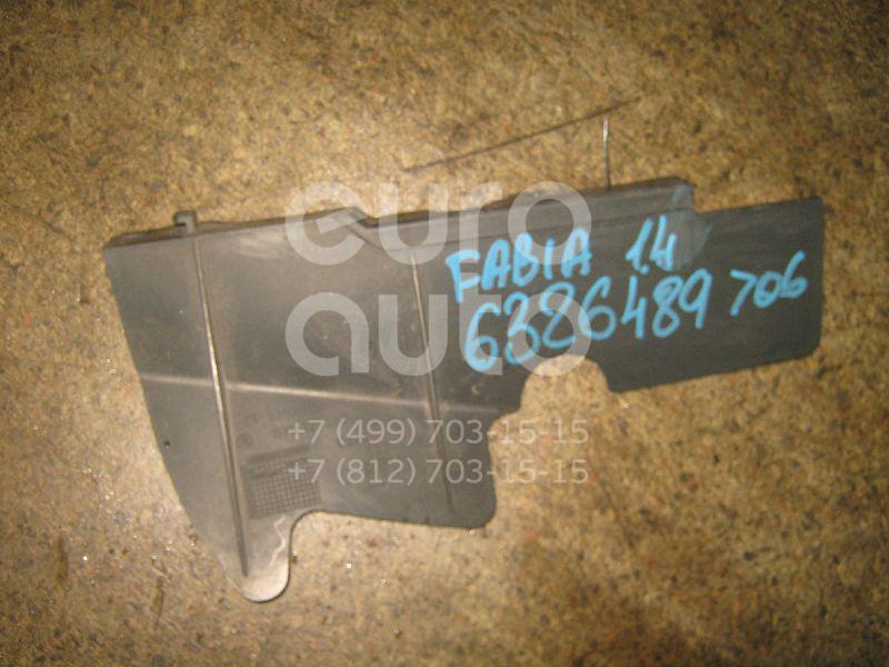 Воздуховод радиатора левый для Skoda Fabia 1999-2007 - Фото №1