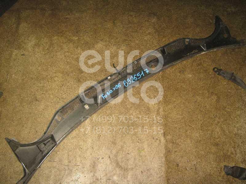 Решетка стеклооч. (планка под лобовое стекло) для Skoda Fabia 1999-2006 - Фото №1