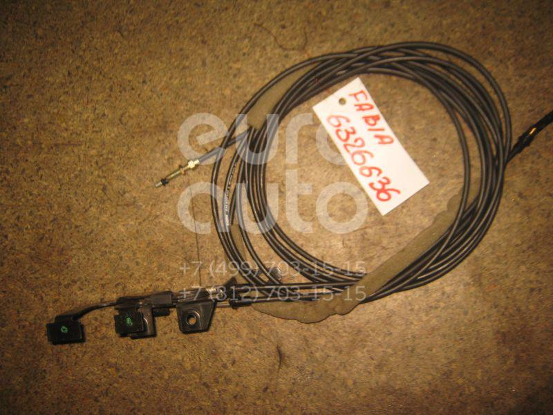 Трос лючка бензобака для Skoda Fabia 1999-2006 - Фото №1