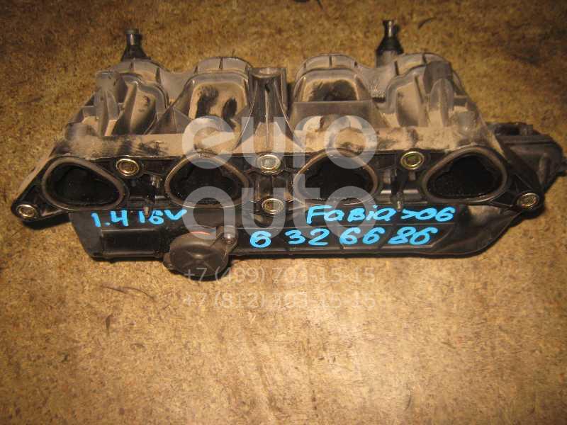 Коллектор впускной для Skoda Fabia 1999-2006 - Фото №1