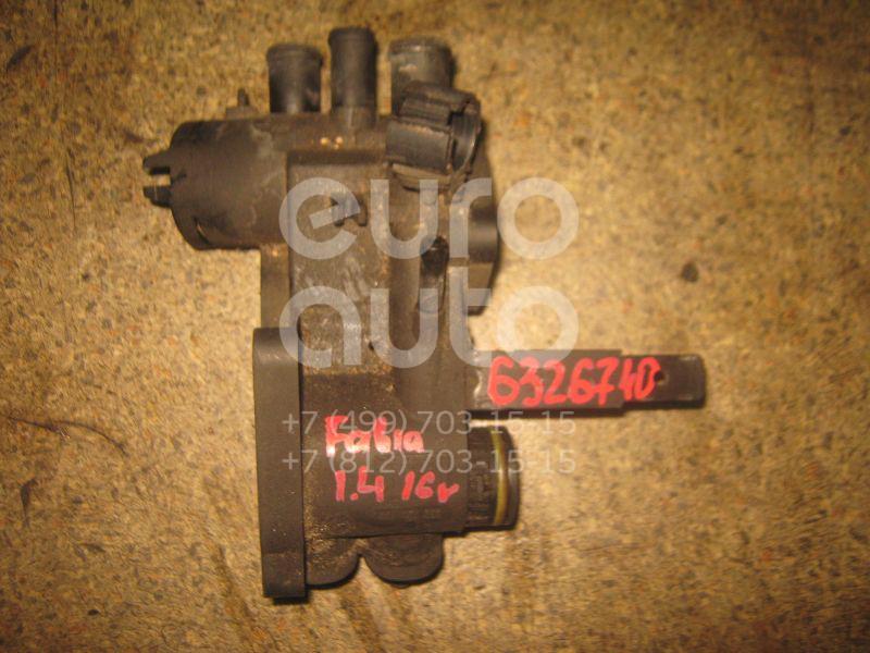 Корпус термостата для Skoda Fabia 1999-2006;A2 [8Z0] 2000-2005;Octavia (A4 1U-) 2000-2011;New Beetle 1998-2010 - Фото №1