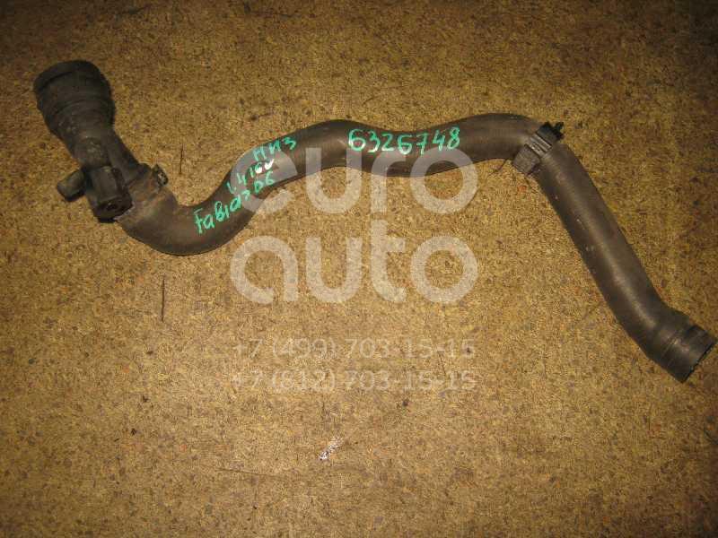 Патрубок радиатора для Skoda Fabia 1999-2007 - Фото №1