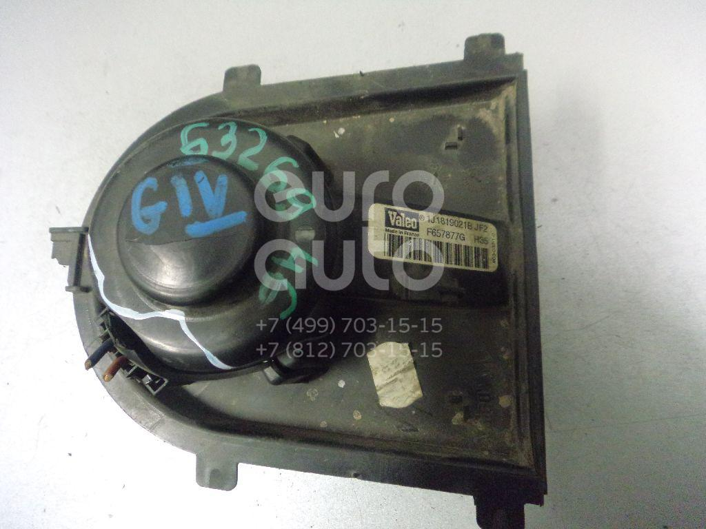Моторчик отопителя для Skoda Golf IV/Bora 1997-2005;A3 (8L1) 1996-2003;TT(8N3) 1998-2006;Octavia (A4 1U-) 2000-2011;Leon (1M1) 1999-2006;Toledo II 1999-2006;Octavia 1997-2000;Arosa 1997-2004;Ibiza III 1999-2002;Cordoba 1999-2002 - Фото №1