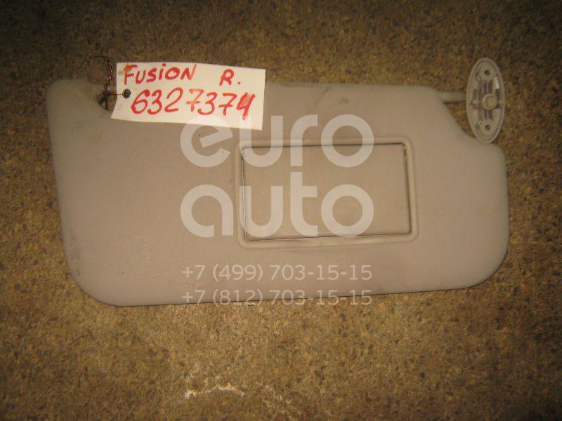 Козырек солнцезащитный (внутри) для Ford Fusion 2002-2012 - Фото №1