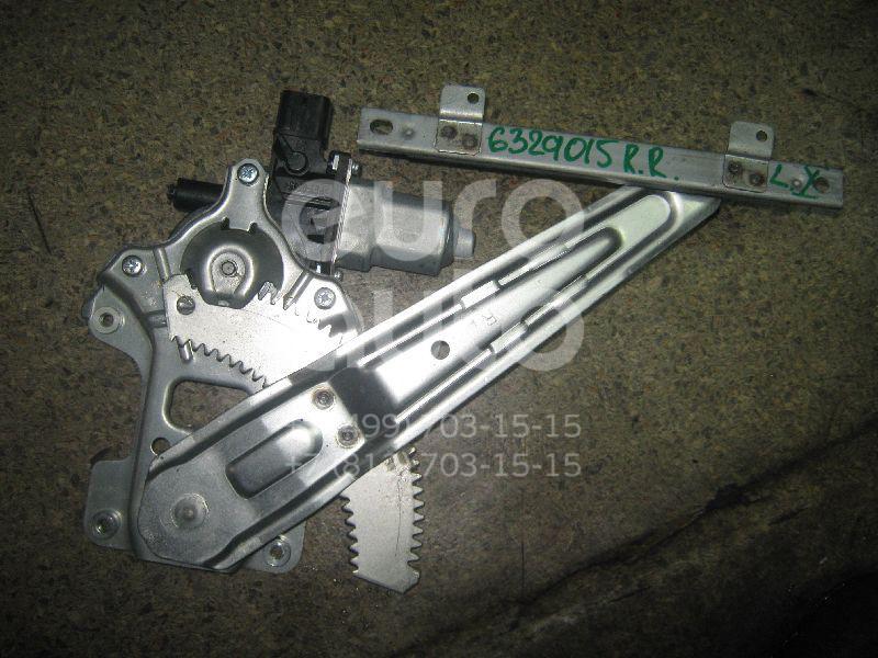 Стеклоподъемник электр. задний правый для Mitsubishi Lancer (CX,CY) 2007> - Фото №1