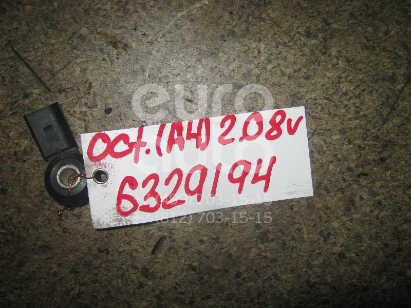 Датчик детонации для Skoda,Audi,Seat,VW Octavia (A4 1U-) 2000-2011;A2 [8Z0] 2000-2005;A3 (8L1) 1996-2003;TT(8N) 1998-2006;Leon (1M1) 1999-2006;A6 [C6,4F] 2004-2011;Toledo II 1999-2006;Octavia 1997-2000;Golf IV/Bora 1997-2005 - Фото №1
