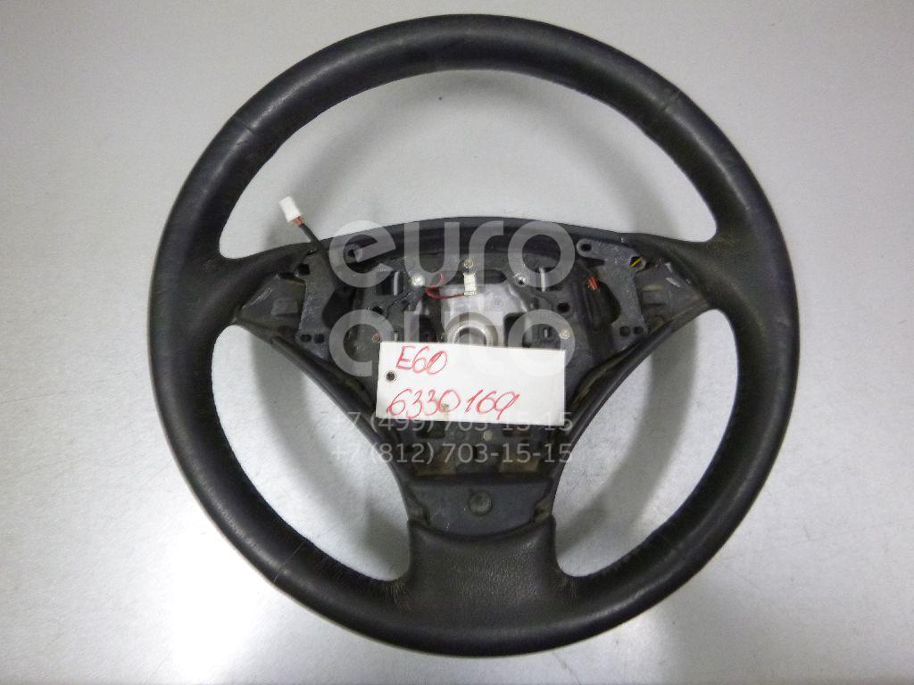 Рулевое колесо для AIR BAG (без AIR BAG) для BMW 5-серия E60/E61 2003-2009 - Фото №1
