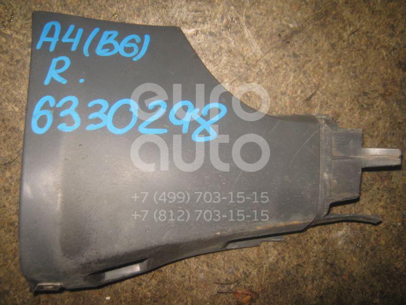 Накладка на порог (наружная) для Audi A4 [B6] 2000-2004 - Фото №1