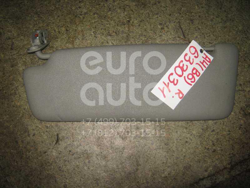 Козырек солнцезащитный (внутри) для Audi A4 [B6] 2000-2004;A4 [B7] 2005-2007 - Фото №1