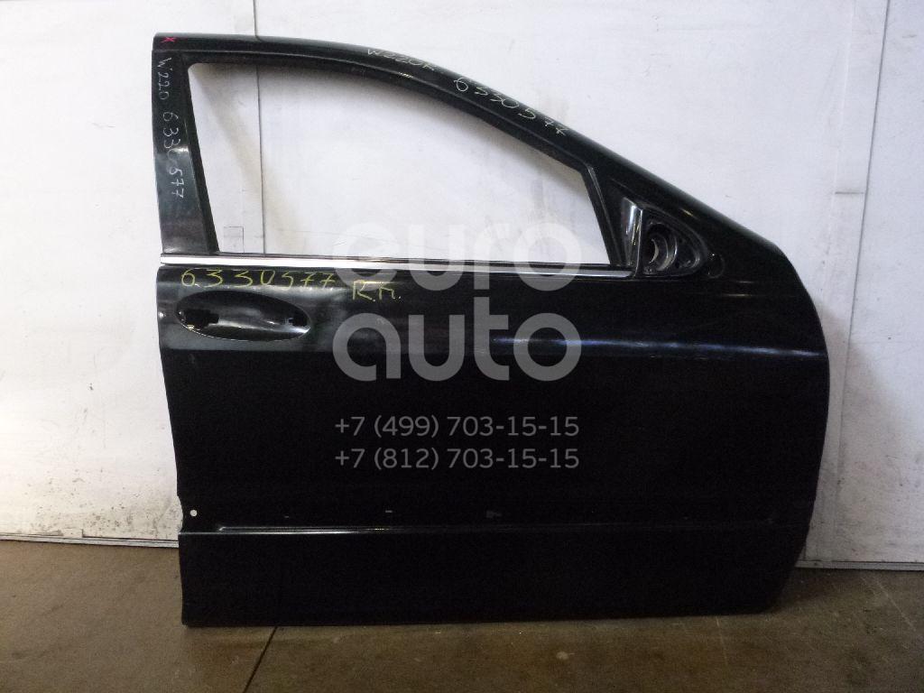 Дверь передняя правая для Mercedes Benz W220 1998-2005 - Фото №1