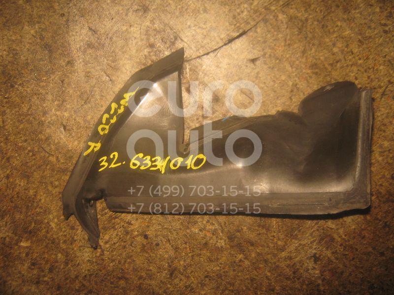 Воздуховод радиатора правый для Mercedes Benz W220 1998-2005 - Фото №1