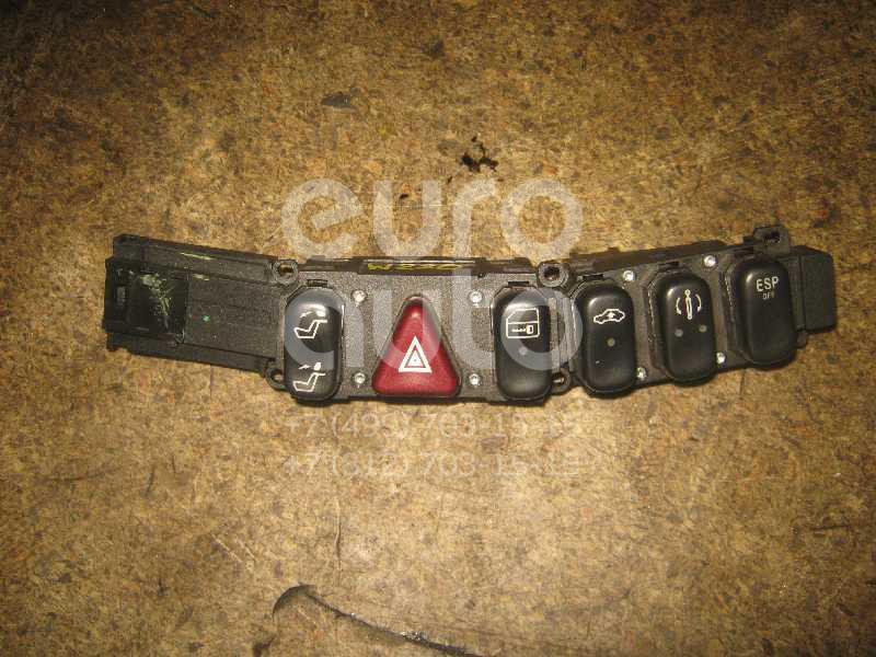 Кнопка аварийной сигнализации для Mercedes Benz W220 1998-2005 - Фото №1