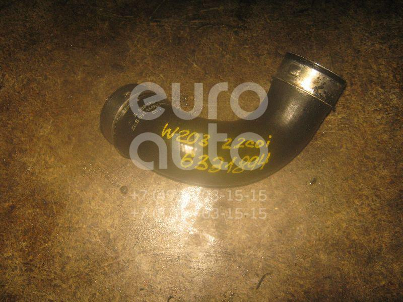 Патрубок интеркулера для Mercedes Benz W203 2000-2006 - Фото №1