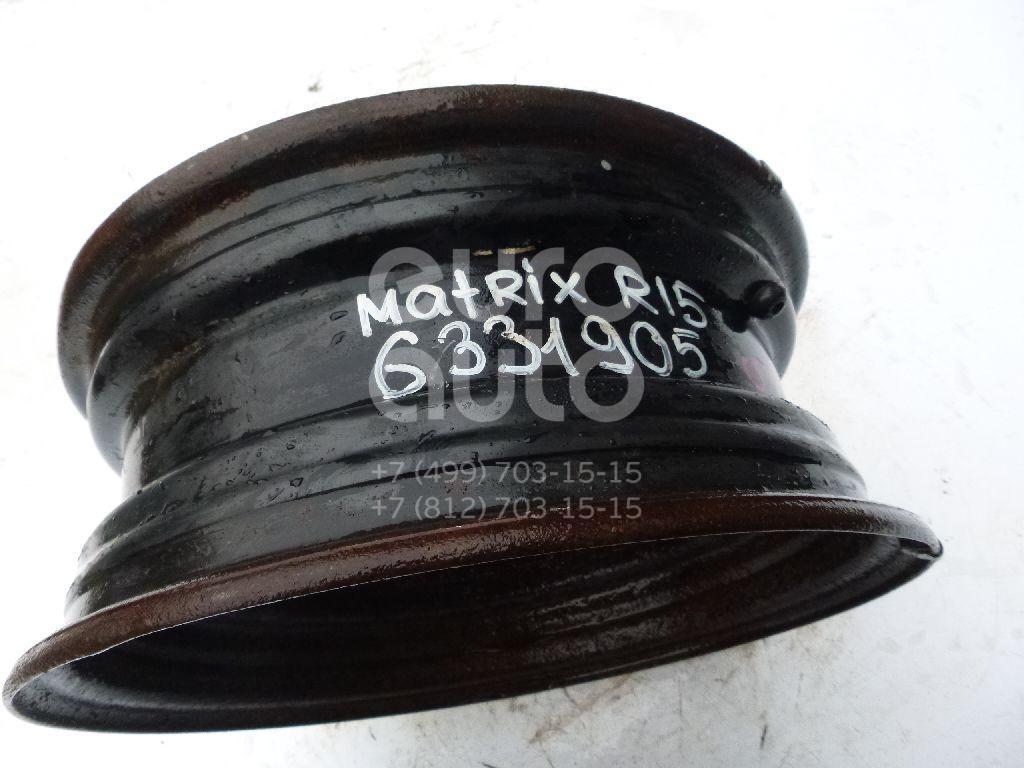 Диск колесный железо для Hyundai Matrix 2001-2010;Elantra 2000-2005 - Фото №1