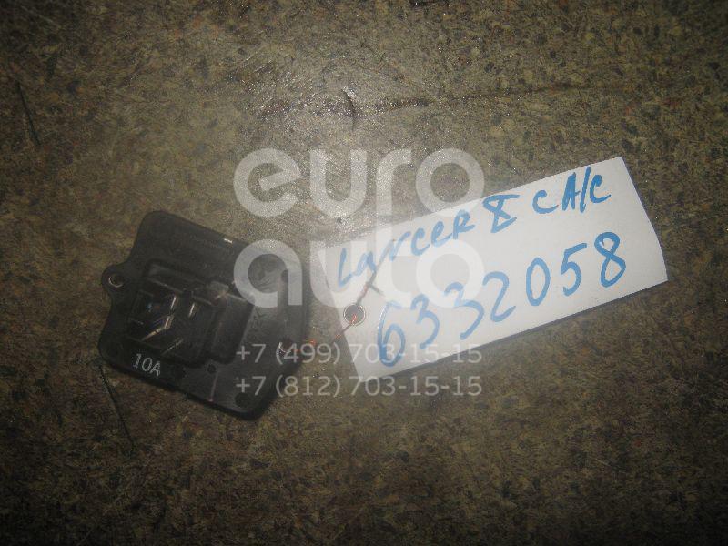 Резистор отопителя для Mitsubishi Lancer (CX,CY) 2007>;Outlander XL (CW) 2006-2012;ASX 2010-2016 - Фото №1