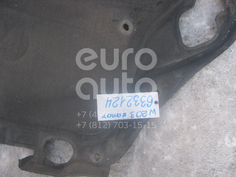 Шумоизоляция капота для Mercedes Benz W203 2000-2006 - Фото №1