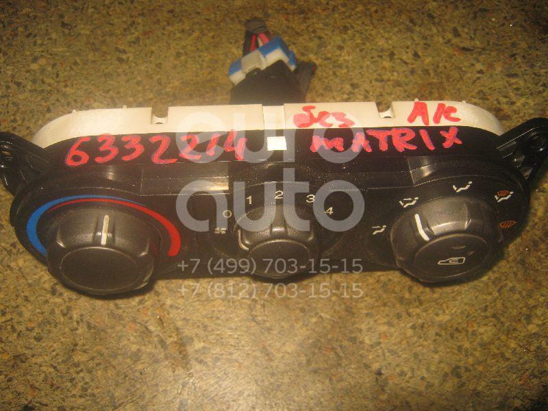 Блок управления отопителем для Hyundai Matrix 2001-2010 - Фото №1