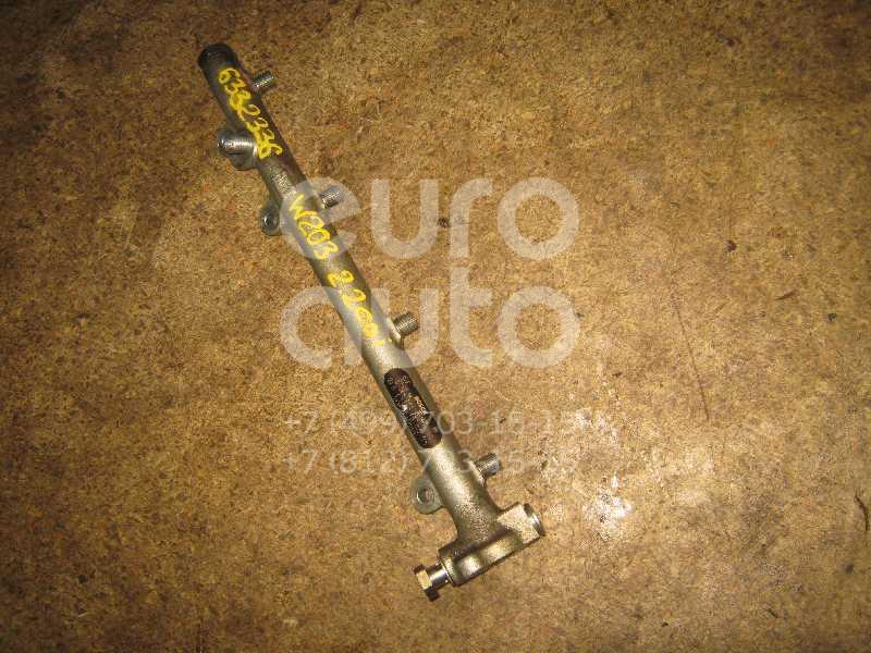 Рейка топливная (рампа) для Mercedes Benz W203 2000-2006;Sprinter (901) 1995-2006;Vito (638) 1996-2003;W210 E-Klasse 1995-2000;W210 E-Klasse 2000-2002 - Фото №1