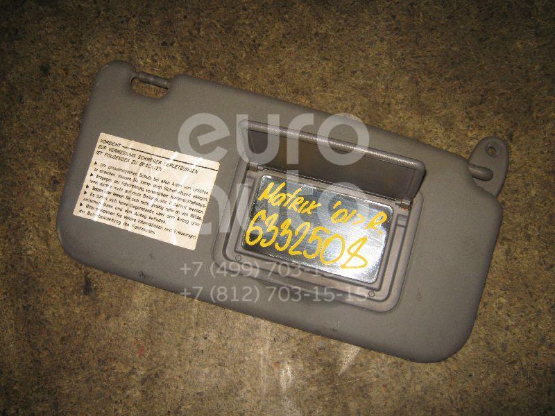 Козырек солнцезащитный (внутри) для Hyundai Matrix 2001> - Фото №1
