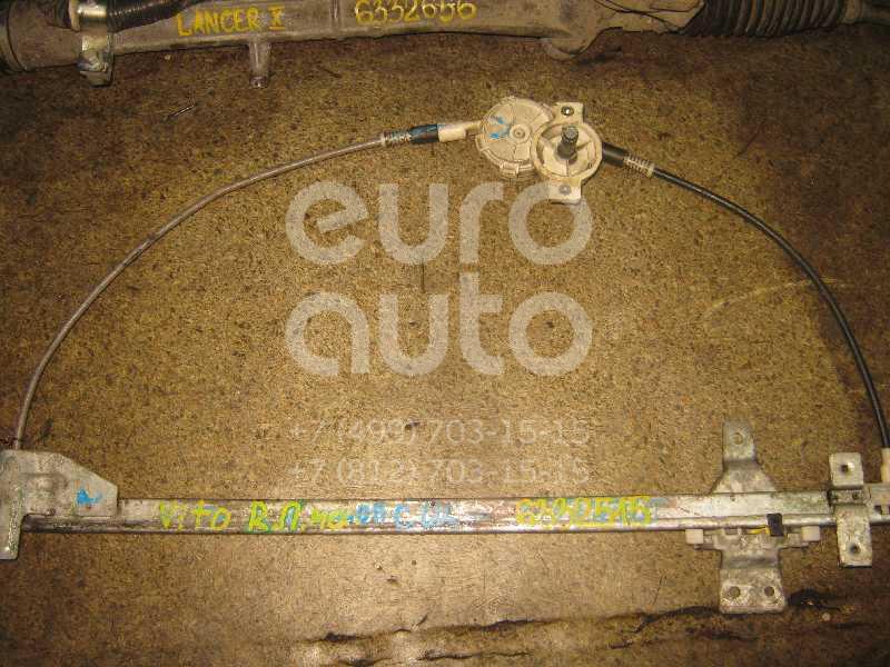 Стеклоподъемник механ. передний правый для Mercedes Benz Vito (638) 1996-2003 - Фото №1