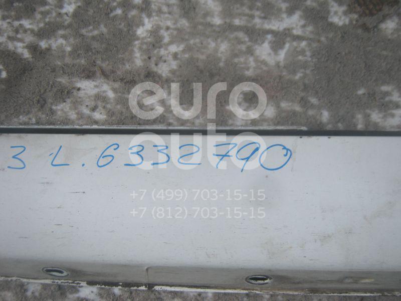Накладка на порог (наружная) для Mercedes Benz W203 2000-2006 - Фото №1
