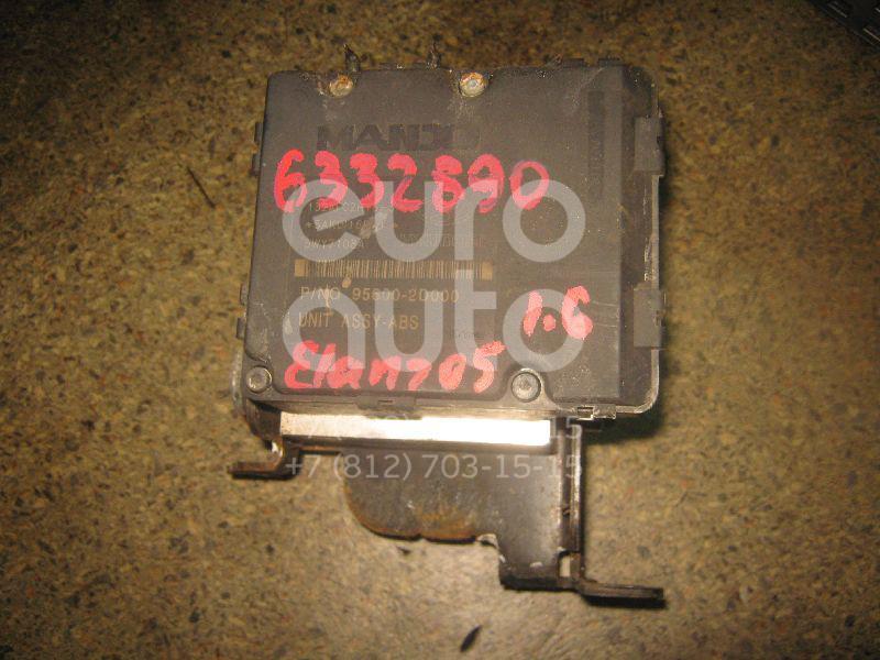 Блок ABS (насос) для Hyundai Elantra 2000-2006 - Фото №1